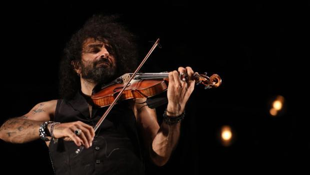 El violinista Ara Malikian, que ya actuó el verano pasado en el Concert Music Festival, repetirá este año.