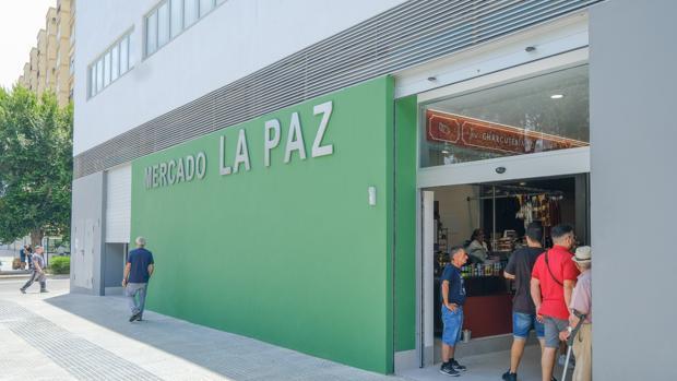 Mercado de La Paz en Cádiz