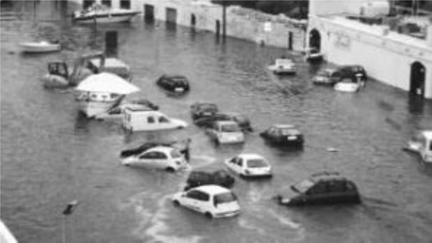 Consecuencias de la resonancia de los puertos en Menorca en una imagen de archivo.