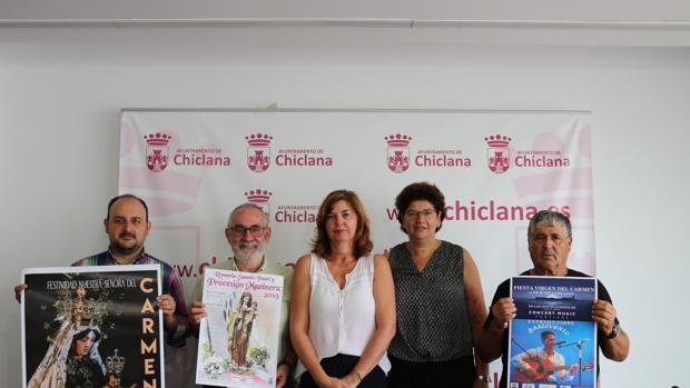 Presentación de los actos por el Día del Carmen.
