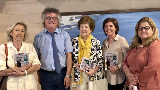 Dolores Rodriguez Marina, Raad Salam Naaman, Victoria Bohorquez, Celia Ollero y Pilar Ysassi