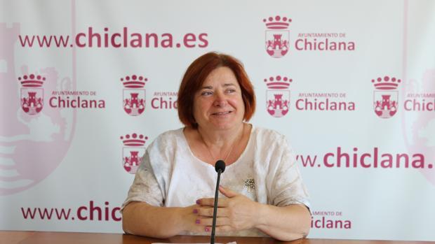 Cándida Verdier, portavoz del Gobierno de Chiclana.