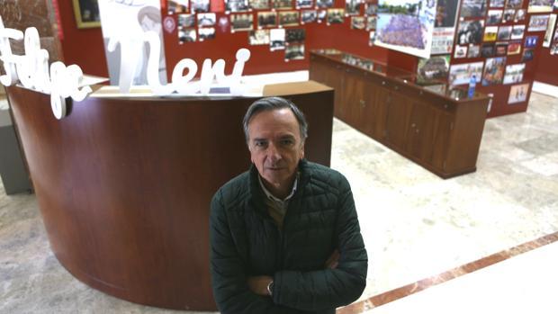 Ignacio Membrillera, director del colegio San Felipe Neri, recuerda a Luis Castro.