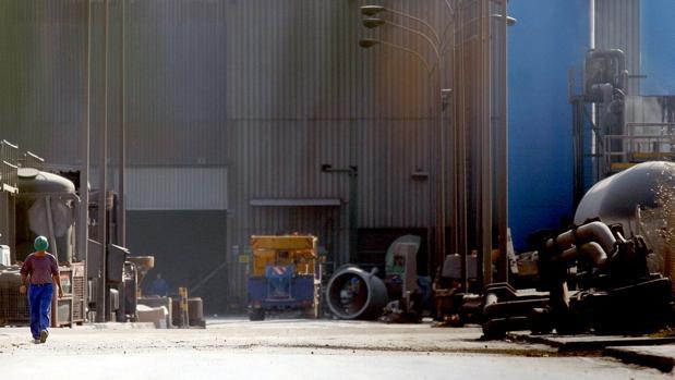 Factoría de Acerinox en Los Barrios.