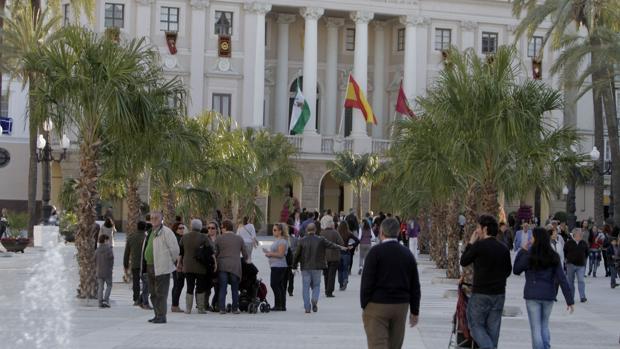 La Plaza de San Juan de Dios, donde ocurrieron los hechos.