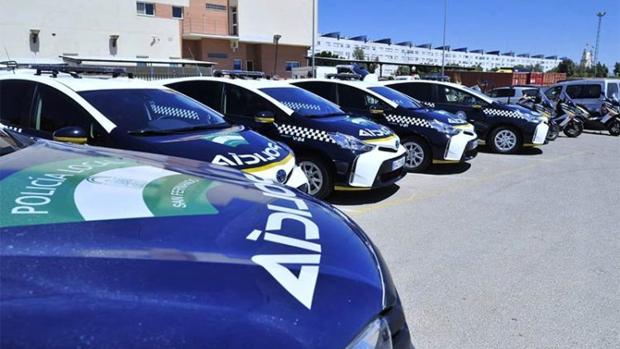 Nueva flota de vehículos adquiridos recientemente.