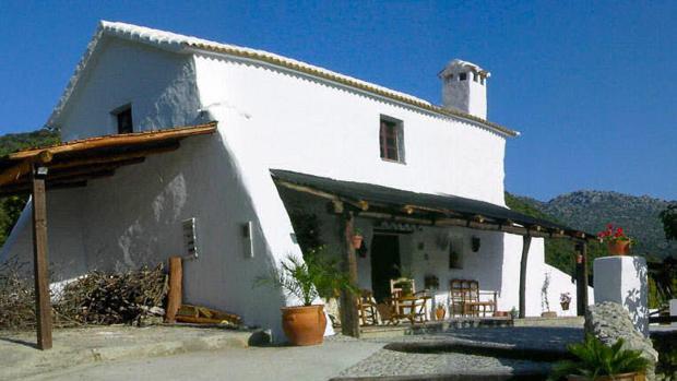 Imagen de archivo de una casa rural en la Sierra de Cádiz.
