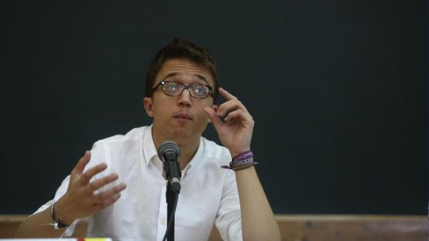 Íñigo Errejón durante su intervención en la Universidad de Verano de Podemos, que se celebró en 2017 en Cádiz.