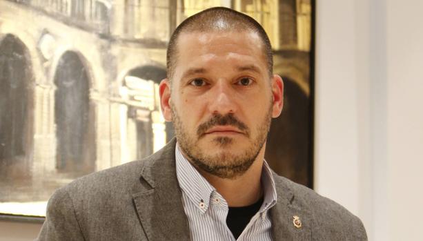 El comisario de la Policía Nacional Luis Esteban.