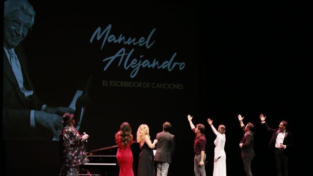 Gala de estrellas para rendir tributo al jerezano Manuel Alejandro