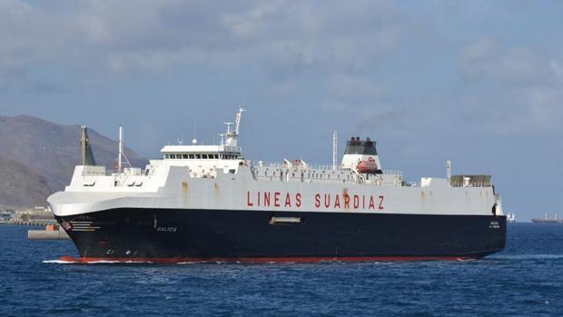 Navantia se posiciona para convertir en buque de transporte militar al carguero 'Galicia'