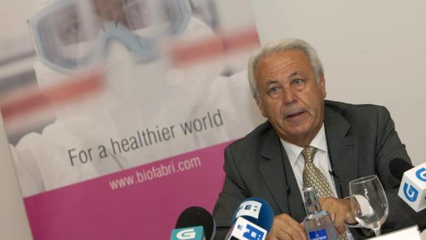 Esteban Rodríguez, consejero delegado de Biofabri, la biofarmacéutica española que desarrolla, junto a la Universidad de Zaragoza, la vacuna de la tuberculosis