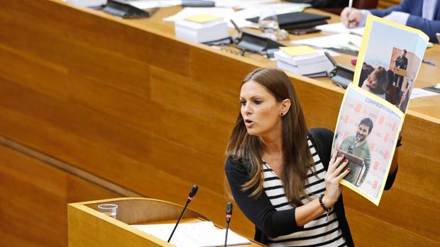 La portavoz de Educación del PP en las Cortes valencianas, Beatriz Gascó