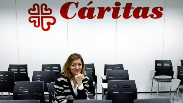 Natalia Peiro Pérez en un momento de la entrevista con ABC