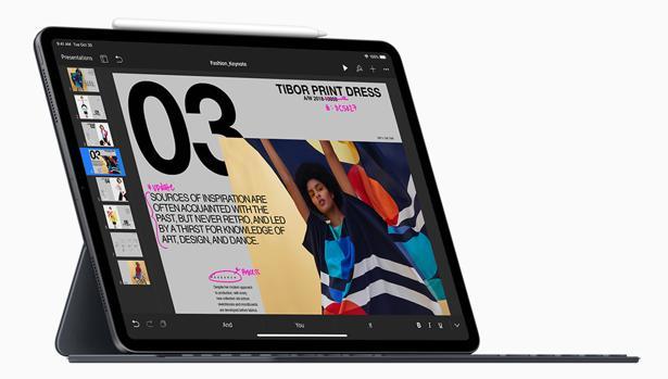 Detalle del nuevo iPad Pro