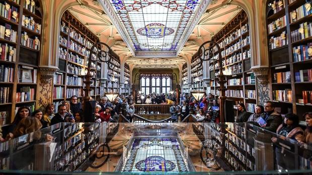 Librería Lello en Oporto (Portugal)
